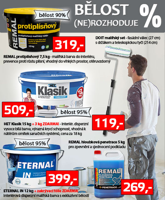 Malujeme interiér za dobré ceny