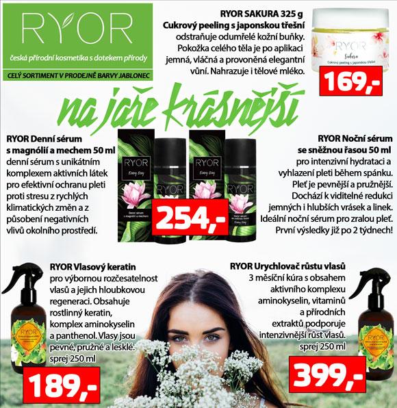 Ryor česká kosmetika