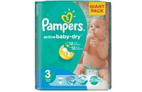 Soutěž Pampers Active Baby 3