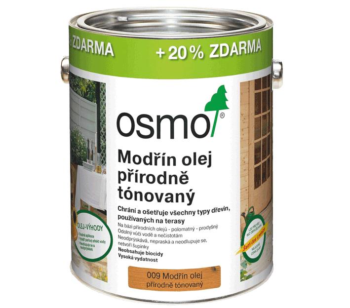 OSMO terasový olej - 20% zdarma!