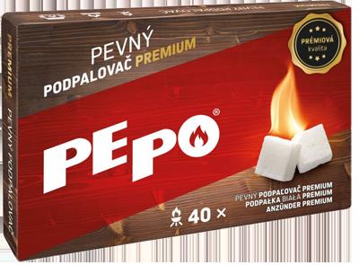 PE-PO pevný podpalovač