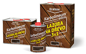 DOPORUČUJEME lazuru Karbolineum Extra
