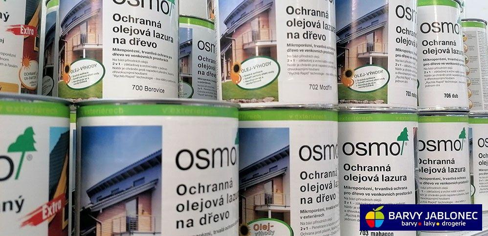 Autorizovaný prodejce Osmo - Barvy Jablonec