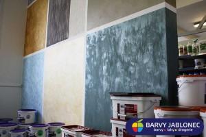 Imitace povrchu stěn