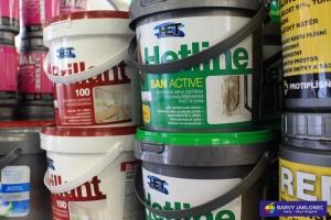 Fasádní a interiérové barvy